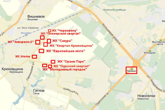 Krjukovshhina-na-karte